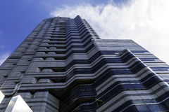 Grattacielo blu di Seoul Immagini Stock