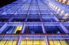 Grattacielo blu a Zurigo Fotografia Stock Libera da Diritti