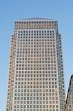 Grattacielo color giallo canarino del molo Fotografia Stock Libera da Diritti
