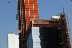 Grattacielo in costruzione Fotografia Stock