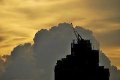 Grattacielo in costruzione Immagine Stock