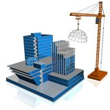 grattacielo 3d Illustrazione Vettoriale