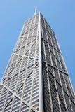 Grattacielo del Chicago - centro del John Hancock Fotografie Stock Libere da Diritti