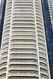 grattacielo del distretto di ufficio della Tailandia del terrazzo Immagini Stock