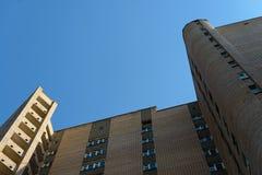 Grattacielo del mattone di Brown Fotografia Stock