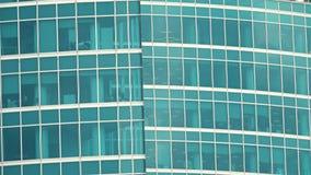 Grattacielo dell'ufficio video d archivio
