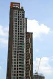grattacielo della pianta del distretto di ufficio della Tailandia del terrazzo di Bangkok Fotografie Stock