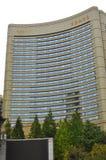 Grattacielo della strada famosa di Nanchino a Shanghai Cina Fotografie Stock Libere da Diritti