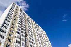 Grattacielo di appartamento Immagini Stock Libere da Diritti