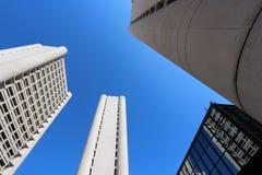 Grattacielo di Bologna del distretto di Fiera Fotografie Stock