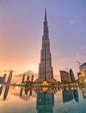 Grattacielo di Burj Khalifa Fotografia Stock