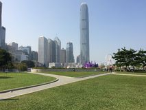 Grattacielo di Hong Kong Immagine Stock Libera da Diritti