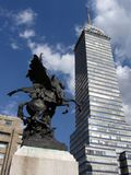 Grattacielo di Messico City Fotografia Stock