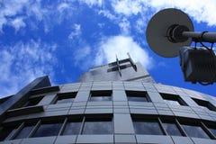 Grattacielo di Varsavia Fotografia Stock Libera da Diritti