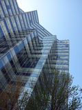 Grattacielo di vetro Fotografia Stock