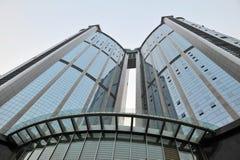 Grattacielo a guangzhou fotografie stock libere da diritti