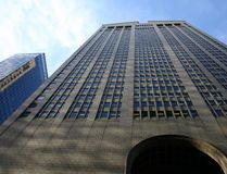 Grattacielo a Manhattan fotografia stock