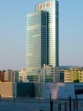 Grattacielo a Milano, Italia Fotografia Stock