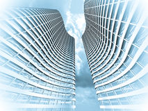 Grattacielo moderno illustrazione vettoriale