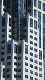 grattacielo moderno dell'ufficio immagine stock