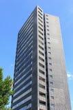 Grattacielo moderno a KNSM-eiland (isola) di KNSM, Amsterdam Fotografia Stock Libera da Diritti