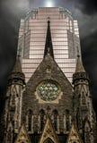 Grattacielo in Montréal del centro Fotografia Stock Libera da Diritti