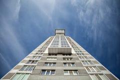 Grattacielo nel cielo Immagine Stock Libera da Diritti