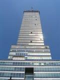 Grattacielo nel cielo fotografia stock