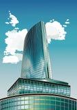 Grattacielo nell'aria Fotografia Stock