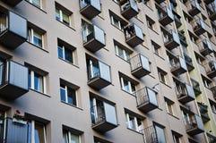 Grattacielo nella città Fotografie Stock Libere da Diritti