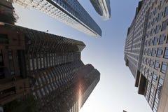 Grattacielo a New York fotografia stock