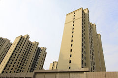 Grattacielo non finito Fotografie Stock