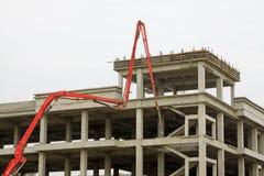 Grattacielo non finito Immagine Stock Libera da Diritti