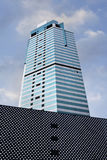 Grattacielo notevole nel centro urbano di Shanghai, Cina Fotografie Stock