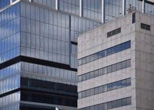 Grattacielo Windows e pareti Immagine Stock