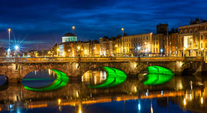 Grattan Bridge, Dublin Royalty Free Stock Images