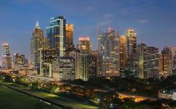 Gratte-ciel à Bangkok, du centre, Thaïlande photos stock