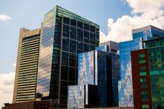 Gratte-ciel à Boston Photographie stock