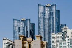 Gratte-ciel à Busan Photographie stock libre de droits