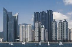 Gratte-ciel à Busan Image stock