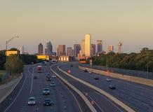 Gratte-ciel à Dallas du centre Le Texas, Etats-Unis image stock