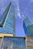 Gratte-ciel à l'endroit central de Pékin, Chine Photo libre de droits