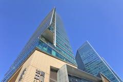 Gratte-ciel à l'endroit central de Pékin, Chine Photo stock