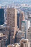 Gratte-ciel à Manhattan Photographie stock