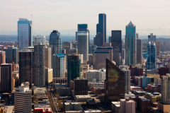 Gratte-ciel à Seattle Image libre de droits