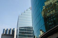 Gratte-ciel à Vancouver image libre de droits