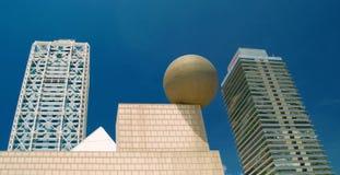 Gratte-ciel - arts et Torre Mapfre d'hôtel Photographie stock