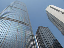 Gratte-ciel au centre de la ville chinoise Shenzhen Image stock