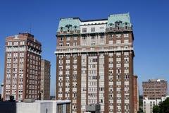 Gratte-ciel au centre de la ville de Memphis Images libres de droits