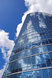 Gratte-ciel bleu Photos libres de droits